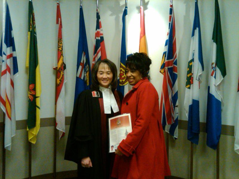 Toshi Jackson - Canadian Citizen